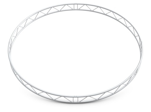 QUICKTRUSS • Duo M290 cercle vertical ø4.00m 4 segments + kits de jonction