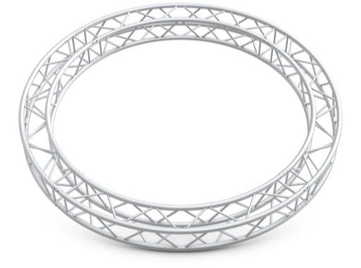 QUICKTRUSS • Quatro M222 cercle ø2.00m 4 segments + kits de jonction