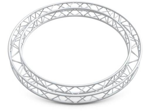 QUICKTRUSS • Quatro M222 cercle ø4.00m 4 segments + kits de jonction