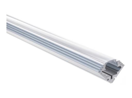 ESL • Profil alu anodisé 45 ALU pour Led 2.00m + diffuseur transparent