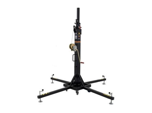 VMB • Pied noir TE071B à treuil H 5,35m Charge 220 kg ø35mm