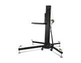 Pied de levage noir TL056B à fourches H 6,50m Charge 200 kg Forks adaptateur - V-structure-machinerie