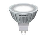TOSHIBA • LED GU5,3 9W 12V 3000K 35° 440lm 25000H-lampes