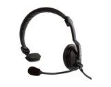 KENWOOD • Micro casque avec PTT léger 1 oreille pour TK 3401DE,TK 3501E et TK 37