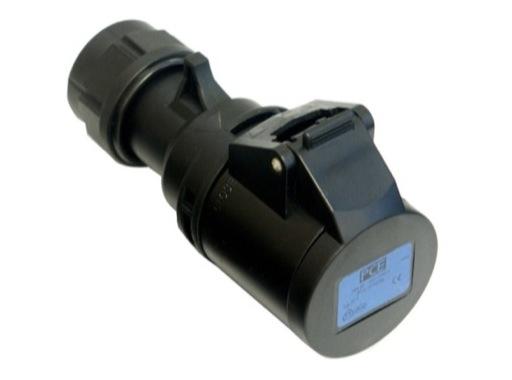 PCE • Prolongateur femelle noire 223-6X P17 240V 32A IP 44