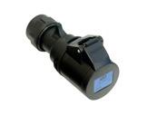 PCE • Prolongateur femelle noire 223-6X P17 240V 32A IP 44-cablage