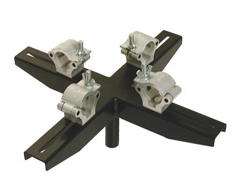 VMB • Adaptateur structure noir 4 points pour TE074B