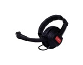 ALTAIR • Casque léger 1 oreille avec micro orientable pour boitier ceinture HF-audio