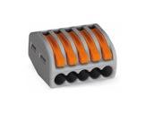 WAGO • Paquet de 40 bornes de connexion sans outils 5 X 0,08 à 4mm2 souple-barettes-de-connexion-wago