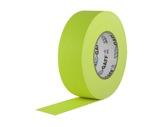 ADHESIF • Gaffer fluorescent jaune 50mm x 25m