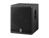 "YAMAHA • Sub DSR118YEMI, 1x18"", ampli classe D 800W, filtre intégré-audio"