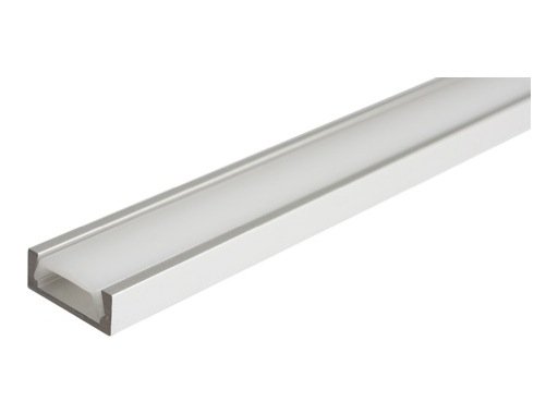 ESL • Profil alu anodisé Micro pour Led 1.00m + diffuseur opaline