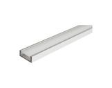 ESL • Profil alu anodisé Micro pour Led 1.00m + diffuseur opaline-profiles-et-diffuseurs-led-strip
