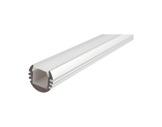 ESL • Profil alu anodisé PDS O pour Led 2.00m + diffuseur opaline-profiles-et-accessoires-led-strip