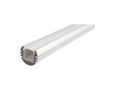 ESL • Profil alu anodisé PDS O pour Led 3.00m + diffuseur opaline-eclairage-archi--museo-