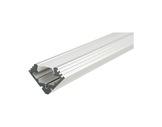 ESL • Profil alu anodisé 45 ALU pour Led 1.00m + diffuseur opaline-eclairage-archi--museo-