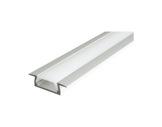 ESL • Profil alu anodisé Micro K pour Led 2.00m + diffuseur opaline-profiles-et-diffuseurs-led-strip