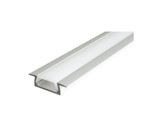 ESL • Profil alu anodisé Micro K pour Led 3.00m + diffuseur opaline-profiles-et-accessoires-led-strip