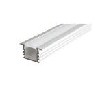 ESL • Profil alu anodisé PDS4 K pour Led 1.00m + diffuseur opaline-profiles-et-accessoires-led-strip