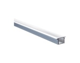 ESL • Profil alu anodisé PDS4 K pour Led 1.00m + diffuseur transparent-profiles-et-diffuseurs-led-strip