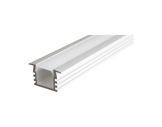 ESL • Profil alu anodisé PDS4 K pour Led 3.00m + diffuseur opaline-profiles-et-accessoires-led-strip