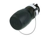 NEUTRIK • Kit capuchon métallique IP65 pour fiche opticalCON monomode Duo-fibre-optique