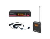 SENNHEISER • Ensemble complet micro serre-tête ME 3 + récepteur UHF-audio