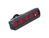 DTS • Barre FOS 33 5 LEDs Full RGBW 28° In/Out M12 IP65 noire (sans alim)-projecteurs-en-saillie