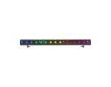 Barre LED FOS 100 DYNAMIC 15 LEDs Full RGBW 28° 1 m noire • DTS-barres-led