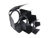 Volet 4 faces noir pour projecteur PAR30 L588CE/CH-accessoires