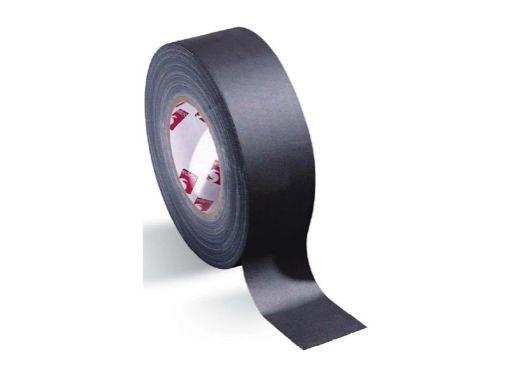 SCAPA • Adhésif toile coton fibrane noire 50mm x 50m