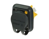NEUTRIK • Capot de protection IP65 pour embase mâle powerCON, série TOP