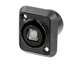NEUTRIK • Traversée opticalCON Quad, série D,avec protection anti-poussière IP65-neutrik