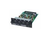 YAMAHA • Carte 4 entrées analog. sym. niveau ligne XLR conv. 24 bits-audio