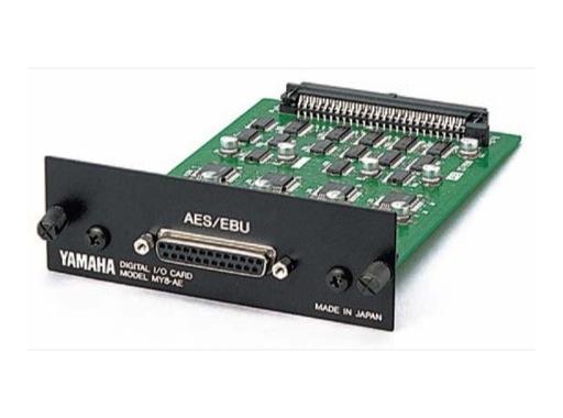 YAMAHA • Carte 8 E/S format AES/EBU (48 kHz)