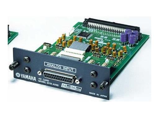 YAMAHA • Carte 8 entrées analog. D-Sub25 , conversion 24bits/96kHz