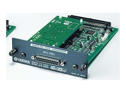YAMAHA • Carte 8 E/S format AES / EBU 96kHz avec SRC