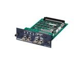 YAMAHA • Carte 8 E/S format HD/SDI, embedder/de-embedder, 24 bits/48kHz-audio