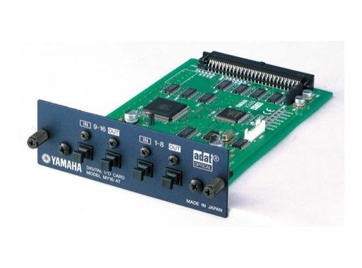YAMAHA • Carte 16 E/S format ADAT (48 kHz)