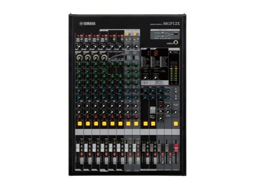 YAMAHA • Console 12 entrées, 6 Mic/Line,4 st,4 Grp,4 aux,2 SPX,USB (iPod/iPhone)