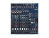 YAMAHA • Console 8 entr. Mic/ligne+comp, 4 st, 2 x 500W / 4 Ohms, GEQ 9 bandes-audio