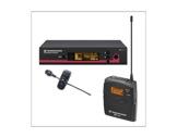 SENNHEISER • Ensemble complet émetteur cravate ME 4 + récepteur UHF-audio