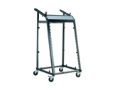 K&M • Stand rack wagon noir H 1060 mm-audio