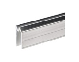 Profilé Alu • Hybride Long 2m 27,5 x 22,5 x 1,5mm, écartement 11mm-profiles