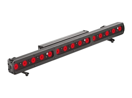 DTS • Barre FOS 100 SOLO 15 LEDs Full RGBW 28° IP65 noire