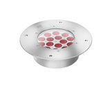 Projecteur HELIOS encastré 15 LEDs Full RGBW 27° IP65 • DTS-encastres-de-sol-et-appliques-murales