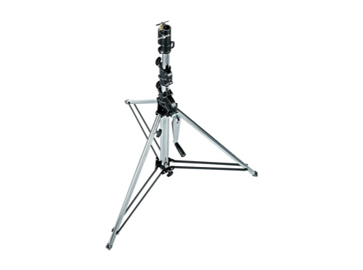 "MANFROTTO • Pied court noir ""Wind-up"" 3 sections 135-270 cm"