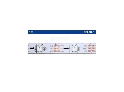 ENTTEC • PIXEL TAPE RGB matricé fond blanc 5 V 30 LEDs/m longueur 5 m