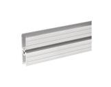 Profilé Alu • Mâle 2m 22 x 22 x 1,3mm, écartement 9,5mm-profiles