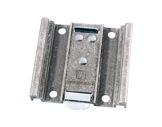 Profilé alu • Support fixation pour roulettes Ø100 Lg 100x108mm-profiles